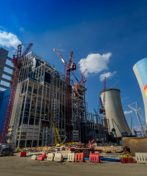 Power Plant, Block 5 & 6, HVAC Installations