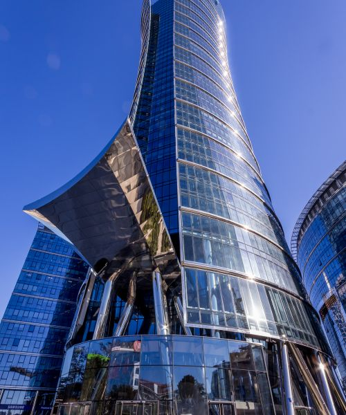 Warsaw Spire Office Building